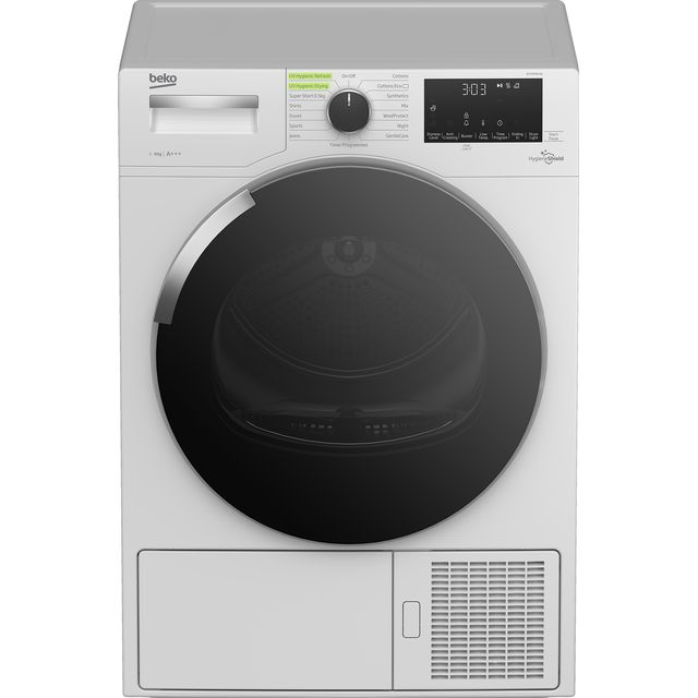 Beko HygieneShield DHY9P56VW Heat Pump Tumble Dryer - White