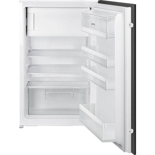 Smeg UKU8C082DF Integrated Under Counter Fridge with Ice Box - Fixed Door Fixing Kit - White - F Rated