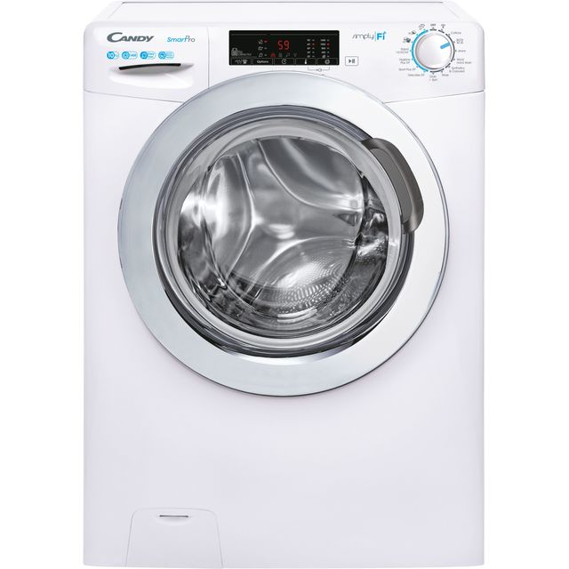 Candy Smart Pro CSO14103TWCE Wifi Connected 10Kg Washing Machine with 1400 rpm - White - C Rated