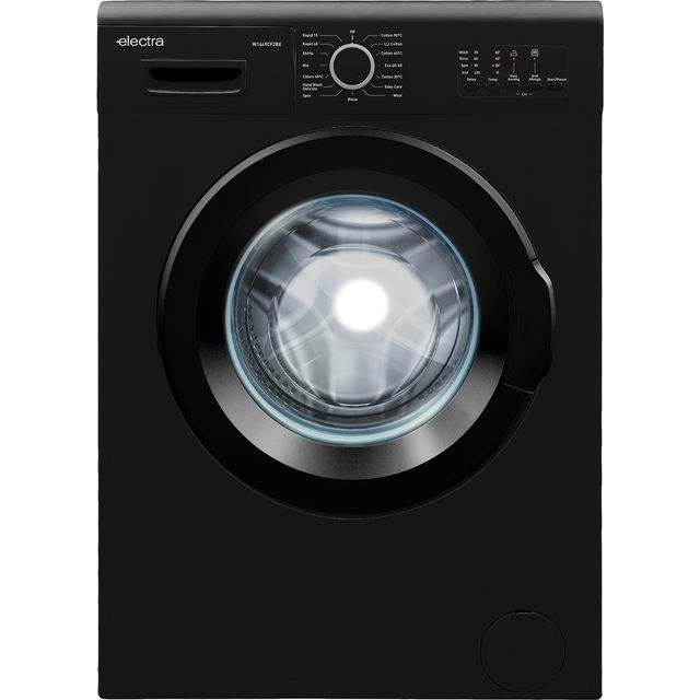 Electra W1449CF2BE 7Kg Washing Machine with 1400 rpm - Black - D Rated