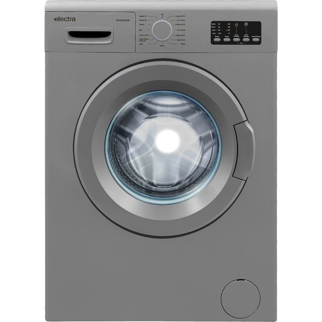 Electra W1449CF2SE 7Kg Washing Machine with 1400 rpm - Silver - D Rated