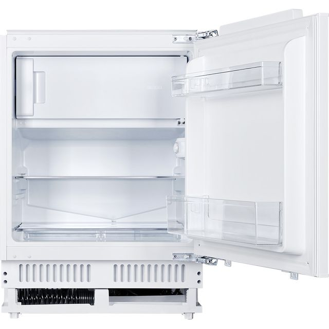 Unbranded UB01FIB Integrated Under Counter Fridge - White - F Rated