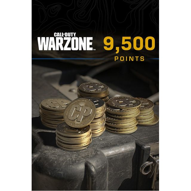 Call of Duty: Warzone 9,500 Game Points For Xbox One