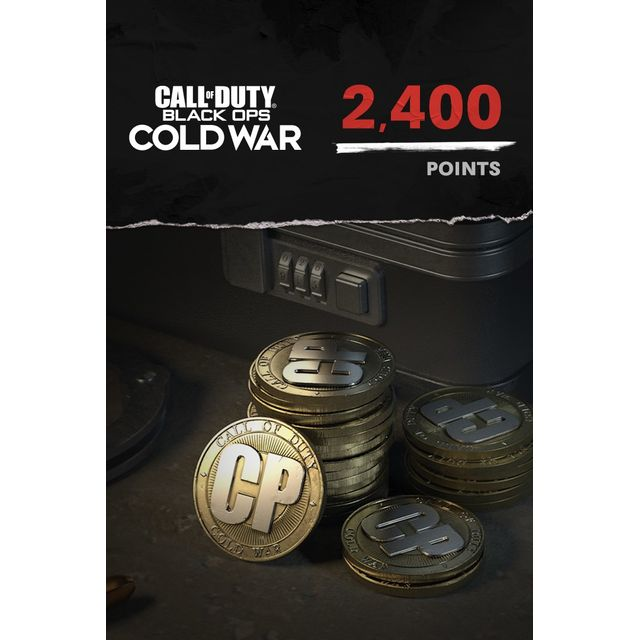Call of Duty: Black Ops Cold War 2,400 Game Points For Xbox One