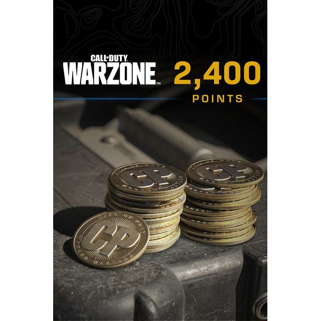 Call of Duty: Warzone 2,400 Game Points For Xbox One