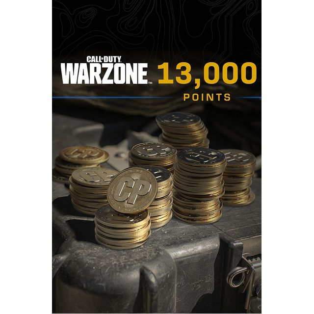 Call of Duty: Warzone 13,000 Game Points For Xbox One