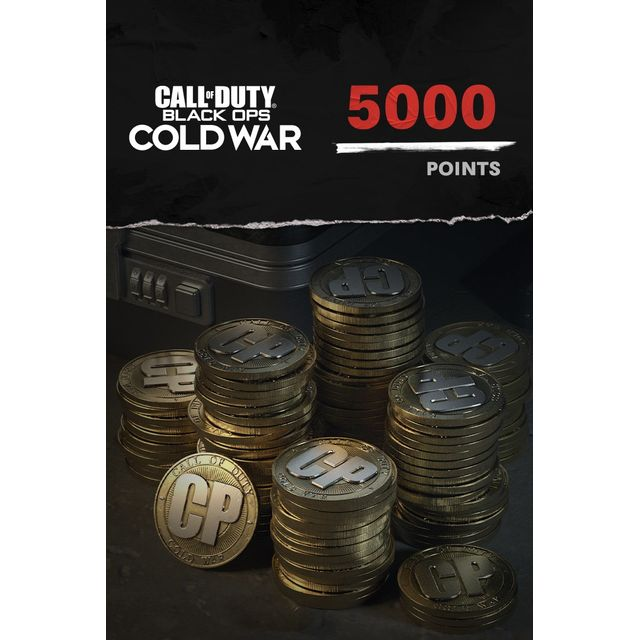 Call of Duty: Black Ops Cold War 5,000 Game Points For Xbox One