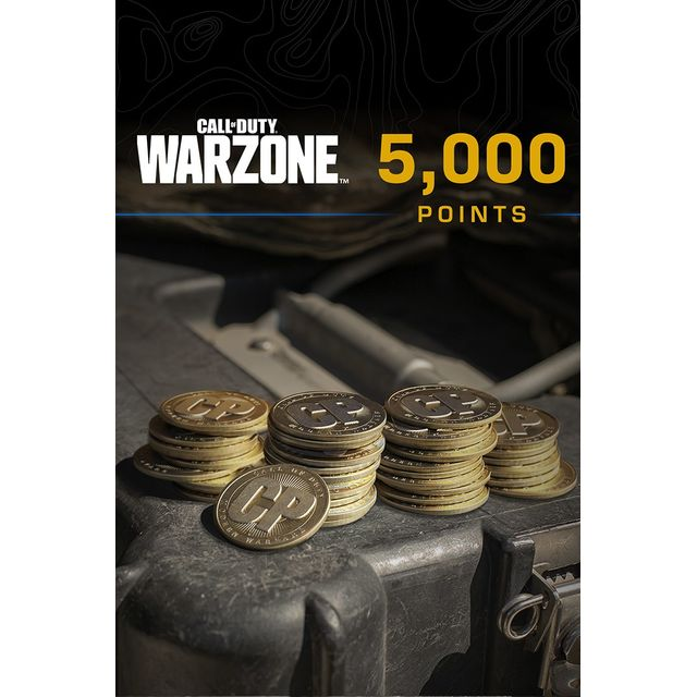 Call of Duty: Warzone 5,000 Game Points For Xbox One