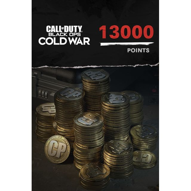 Call of Duty: Black Ops Cold War 13,000 Game Points For Xbox One