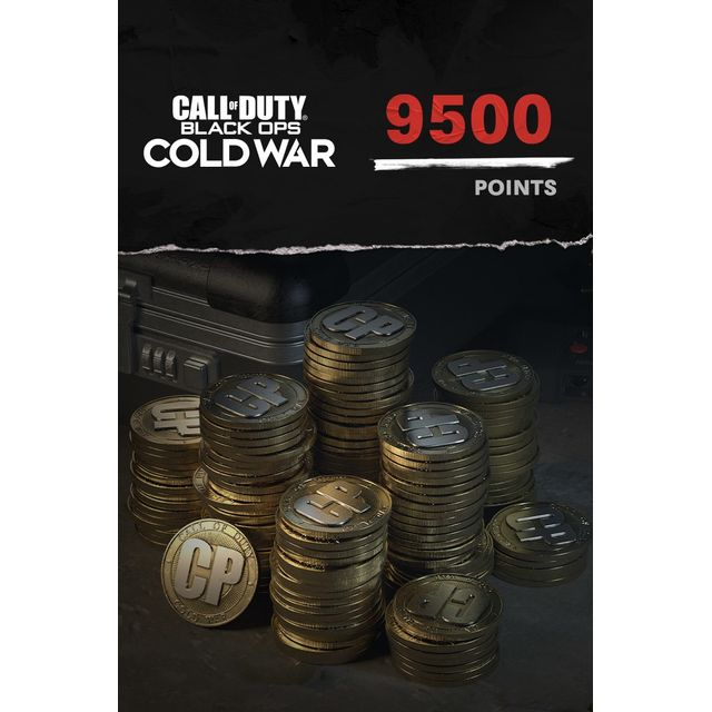 Call of Duty: Black Ops Cold War 9,500 Game Points For Xbox One