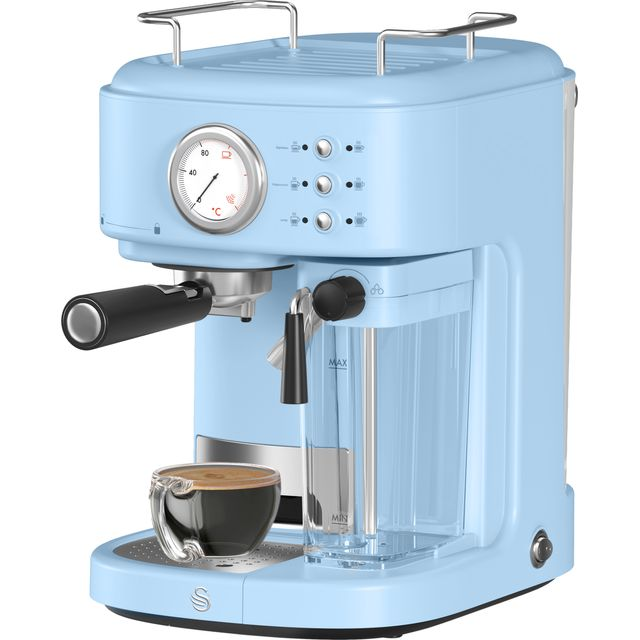 Image of Swan Retro Espresso in Blue