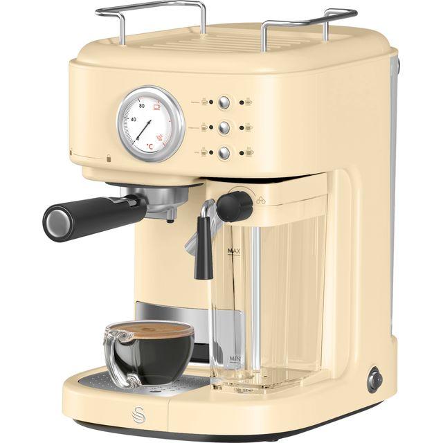 Image of Swan Retro Espresso in Cream
