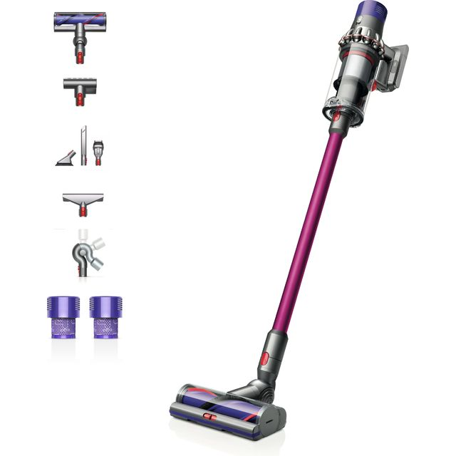 Dyson Cordless Vacuum Cleaner in Purple / Nickel
