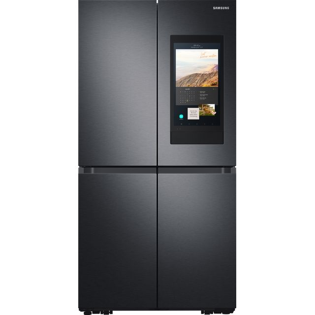 Samsung Family Hub� RF65A977FB1 Wifi Connected American Fridge Freezer - Black / Stainless Steel - F Rated