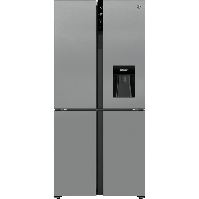Hoover HSC818FXWDK American Fridge Freezer - Stainless Steel - F Rated