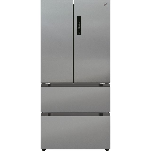 Hoover HSF818FXK American Fridge Freezer - Stainless Steel - F Rated