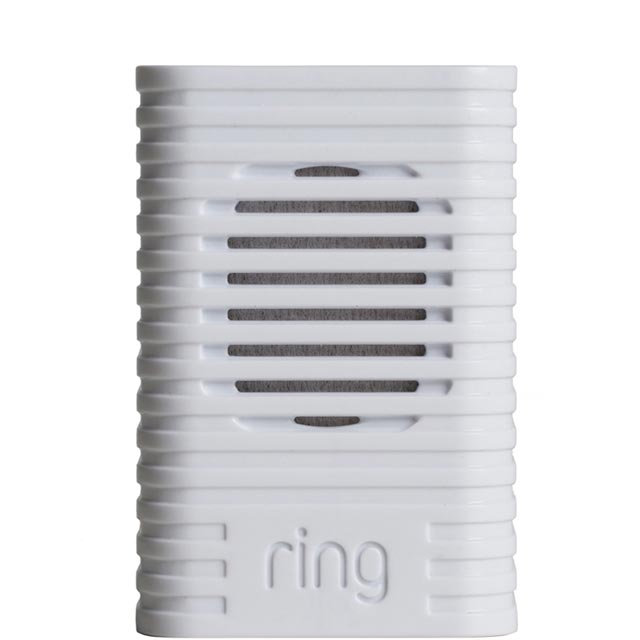 Ring Wireless Doorbell Chime 8AC3S5-0EU0 Smart Door Bell in White