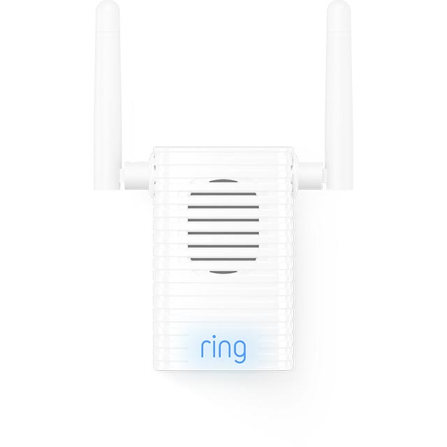 Ring Chime Pro - Chime and WiFi Extender 8AC4P6-0EU0 Smart Door Bell in White