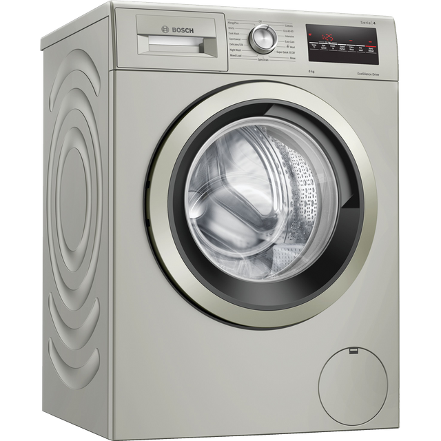 Bosch Serie 4 WAN282X1GB 8Kg Washing Machine with 1400 rpm - Silver - C Rated