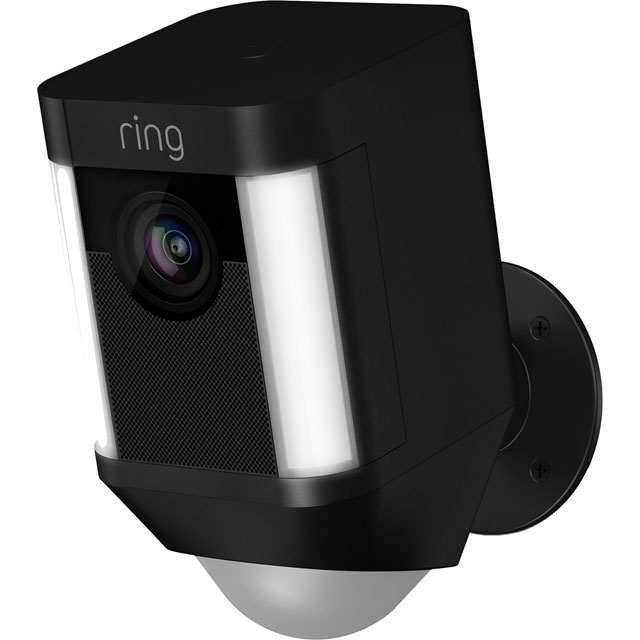 Ring Spotlight Cam Battery 8SB1S7-BEU0 Smart Home Security Camera in Black