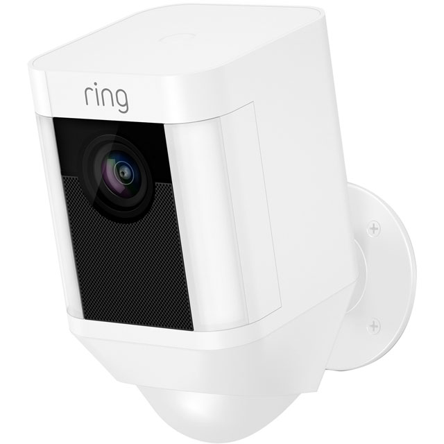 Ring Spotlight Cam Battery 8SB1S7-WEU0 Smart Home Security Camera in White