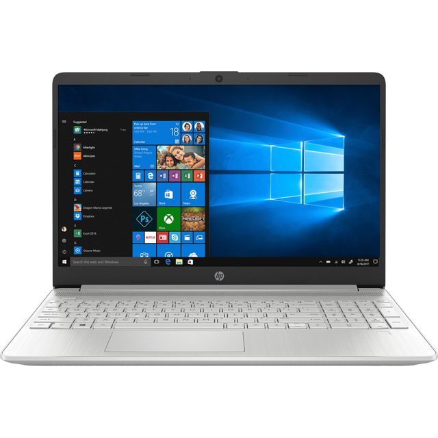"HP 15s-fq1003na 15.6"" Laptop - Natural Silver"