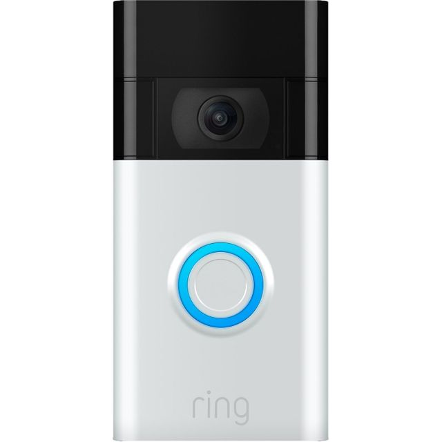 Ring Video Doorbell (Gen 2) Full HD 1080p - Nickel