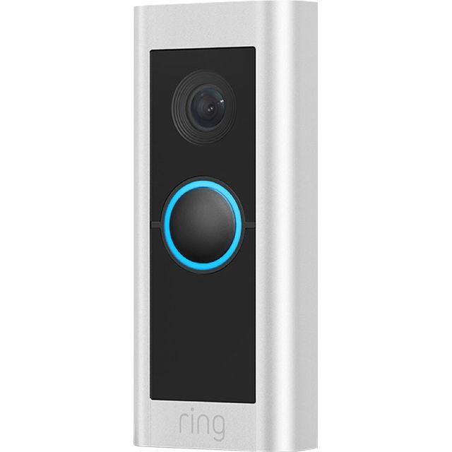 Ring Video Doorbell Pro 2 Hardwired Smart Door Bell in Nickel