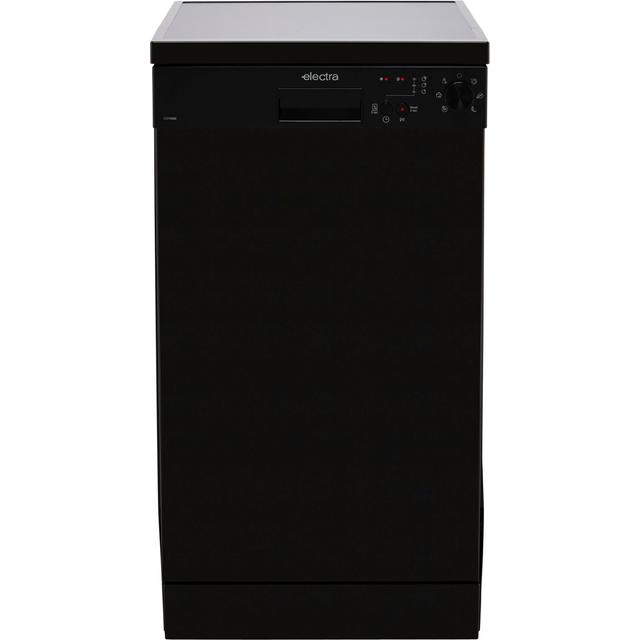 Electra C1745BE Slimline Dishwasher - Black - E Rated