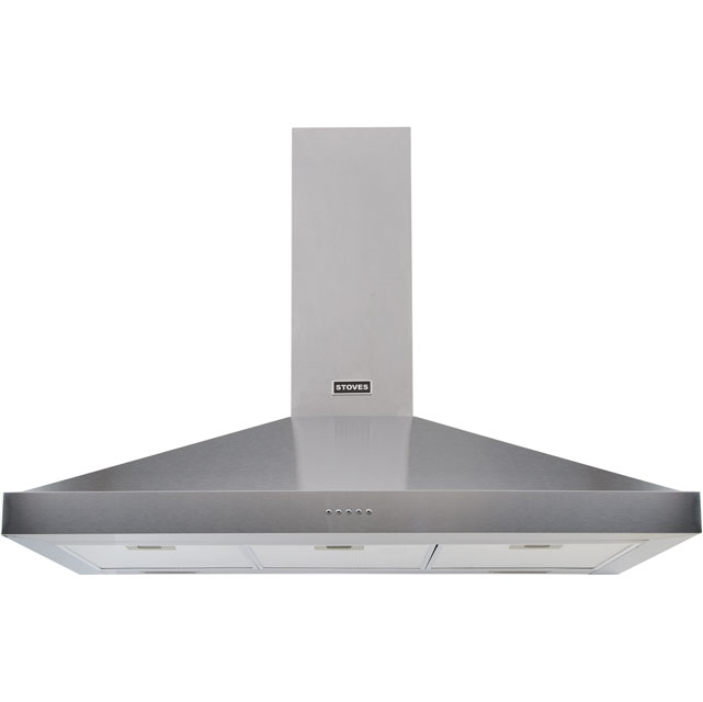 Stoves 900STERLINGCHMK2 Integrated Cooker Hood in Stainless Steel