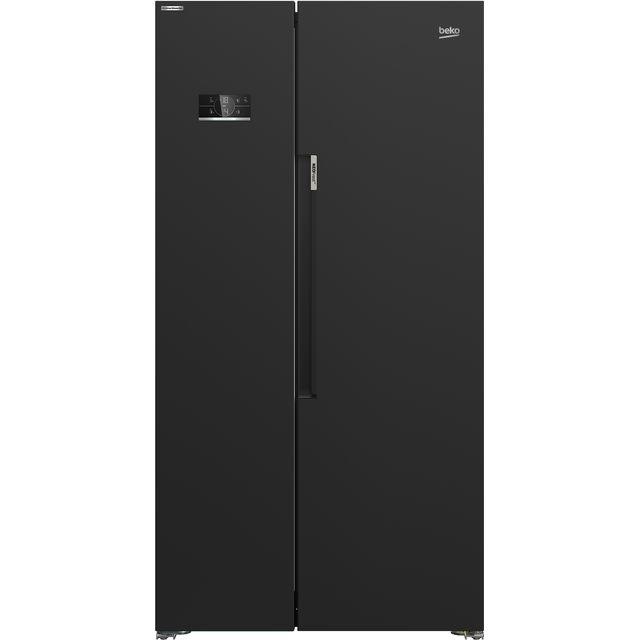 Beko ASL1342B American Fridge Freezer - Black - F Rated