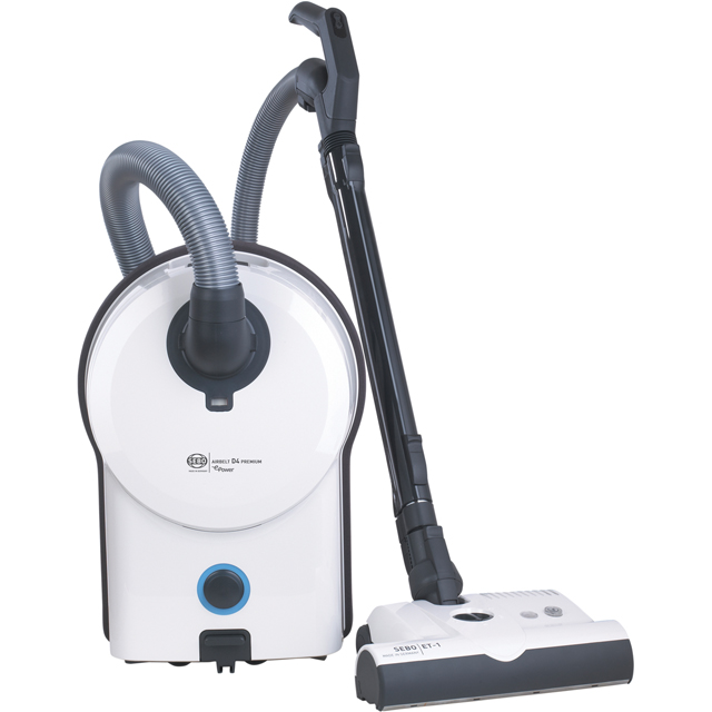 Sebo Airbelt D4 Premium ePower Cylinder Vacuum Cleaner - C Rated