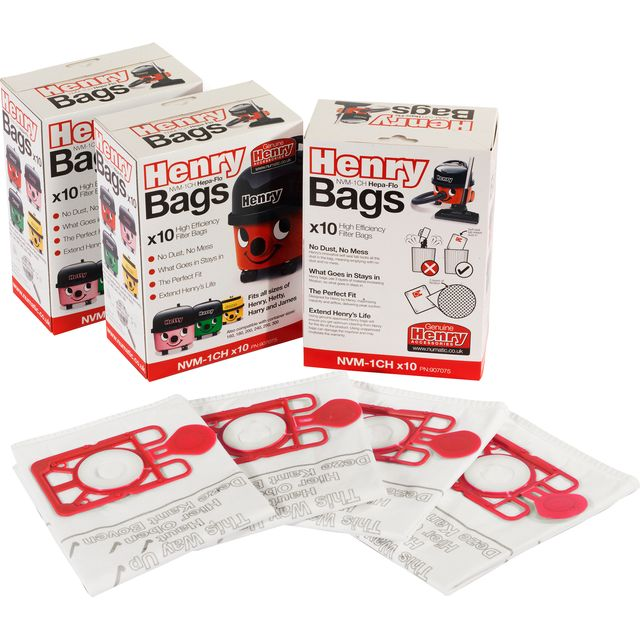 Henry Genuine Dust Bags - Pack of 30 Vacuum Bags