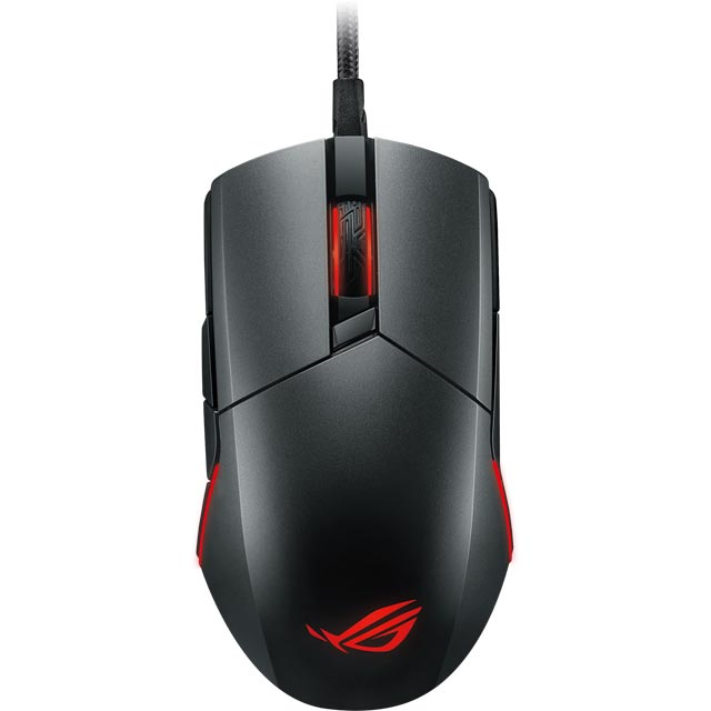 Asus ROG Pugio Wired USB Optical Gaming Mouse - Black - 90MP00L0-B0UA00 - 1