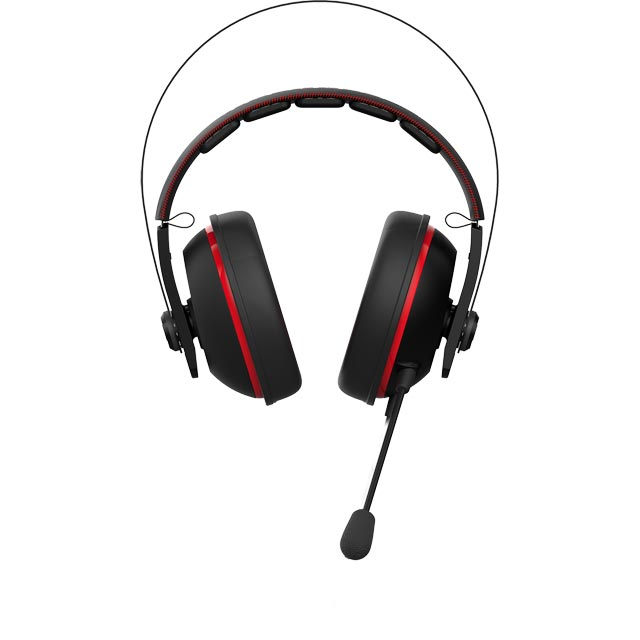 Asus Cerberus V2 Over Ear Gaming Headset - 90YH015R-B1UA00 - 1