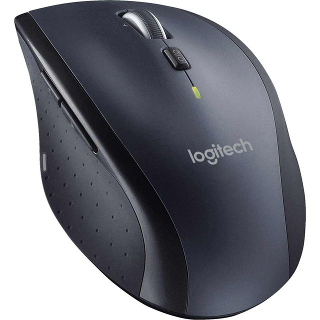 Logitech M705 Wireless USB Laser Mouse - Black - 910-001949 - 1