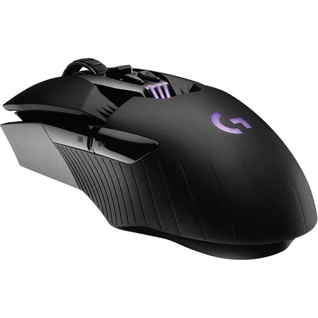 Logitech G900 Chaos Spectrum Wireless USB Optical Mouse - Black
