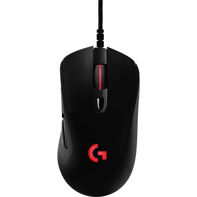 Logitech G403 Prodigy Wired USB Optical Gaming Mouse - Black
