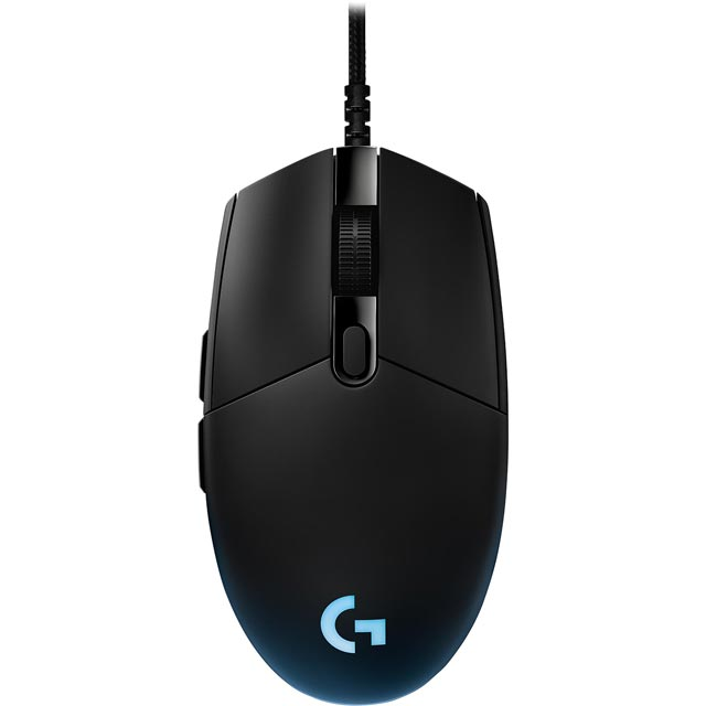 Logitech G Pro Wired USB Optical Gaming Mouse - Black
