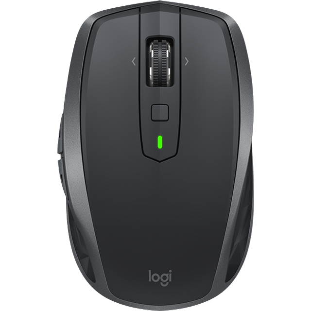 Image of Logitech MX Anywhere 2 Bluetooth / Wireless USB Laser Mouse - Graphite