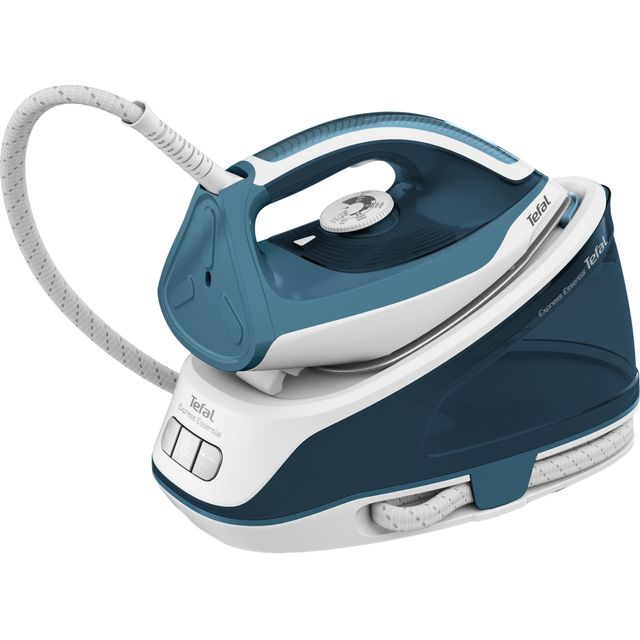 Tefal Express Essential Steam Generator Iron in White / Teal