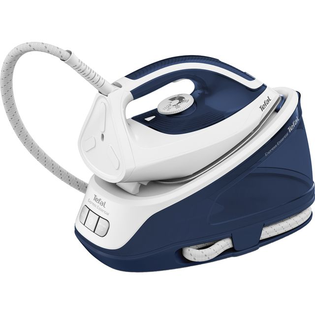 Tefal Express Essential Steam Generator Iron in White / Blue