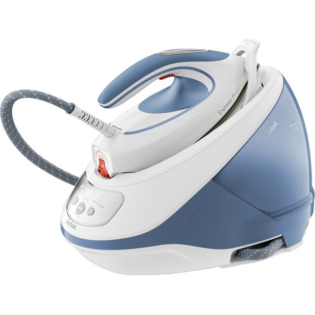 Tefal Express Protect Steam Generator Iron in White / Blue
