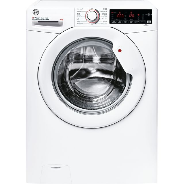 Hoover H-WASH 300 H3W69TME/1 9Kg Washing Machine with 1600 rpm - White - B Rated