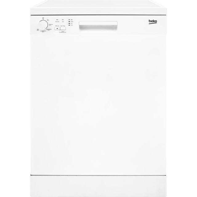 Beko DFN05320W Standard Dishwasher - White - E Rated