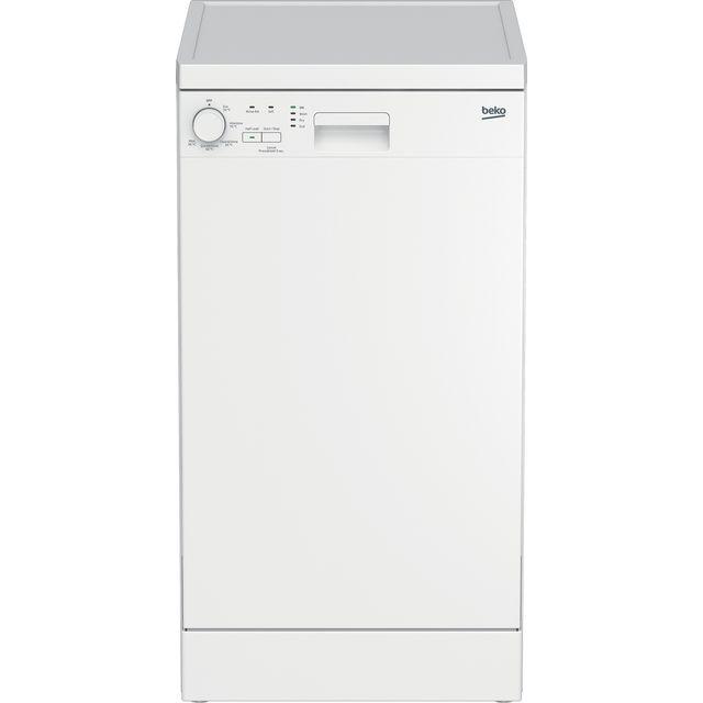 Beko DFS05020W Slimline Dishwasher - White - E Rated