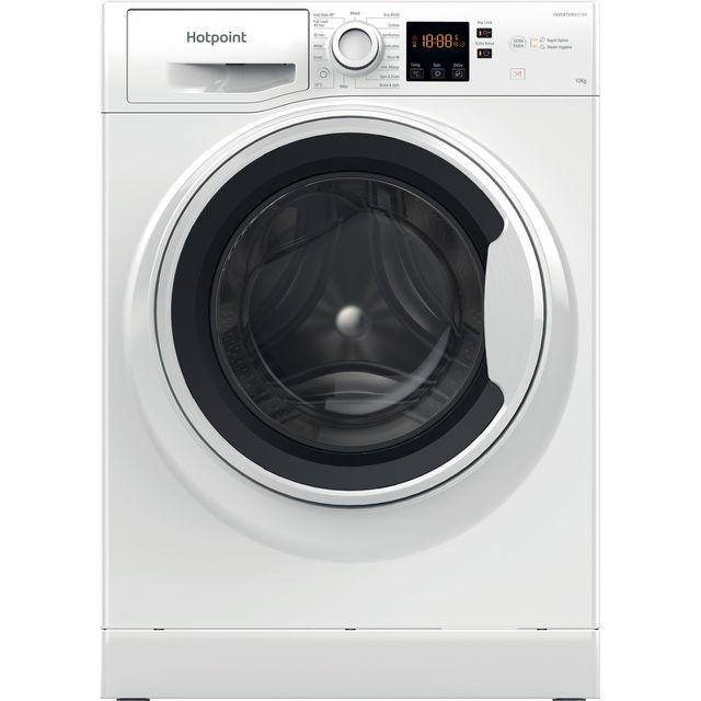 Hotpoint NSWA1044CWWUKN 10Kg Washing Machine with 1400 rpm - White - C Rated