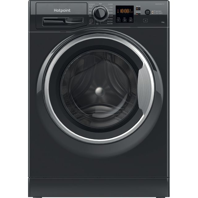 Hotpoint NSWM1044CBSUKN 10kg 1400rpm Freestanding Washing Machine - Black