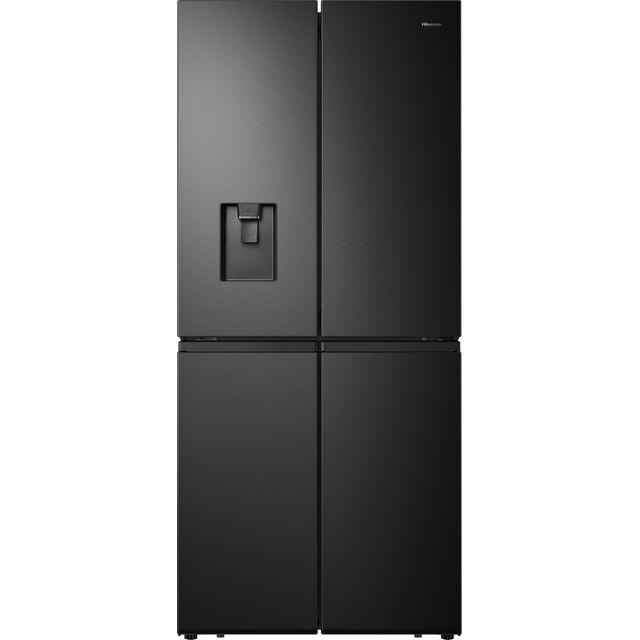 Hisense RQ560N4WBF American Fridge Freezer - Black - F Rated