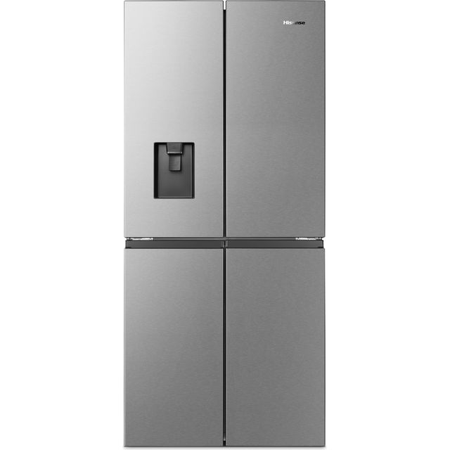 Hisense FMN440W20C American Fridge Freezer - Stainless Steel - F Rated